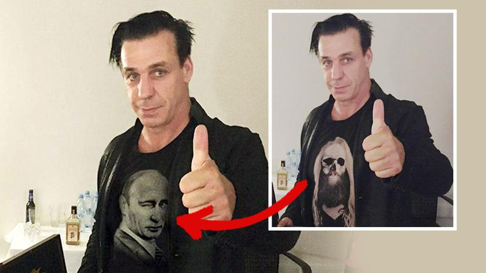 A Rammstein énekese szerint rászállt a putyinista propaganda