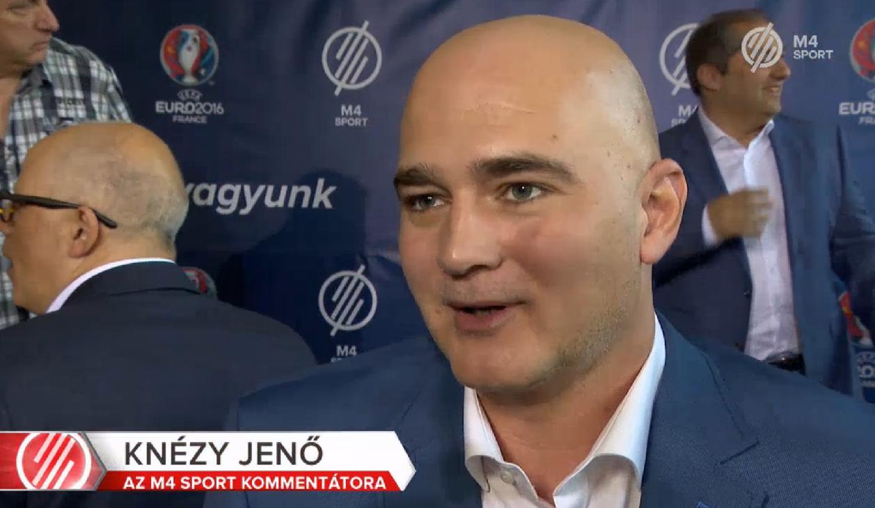 Ifjabb Knézy Jenő újra bebizonyította, hogy a magyar sportkommentátornak nincs párja