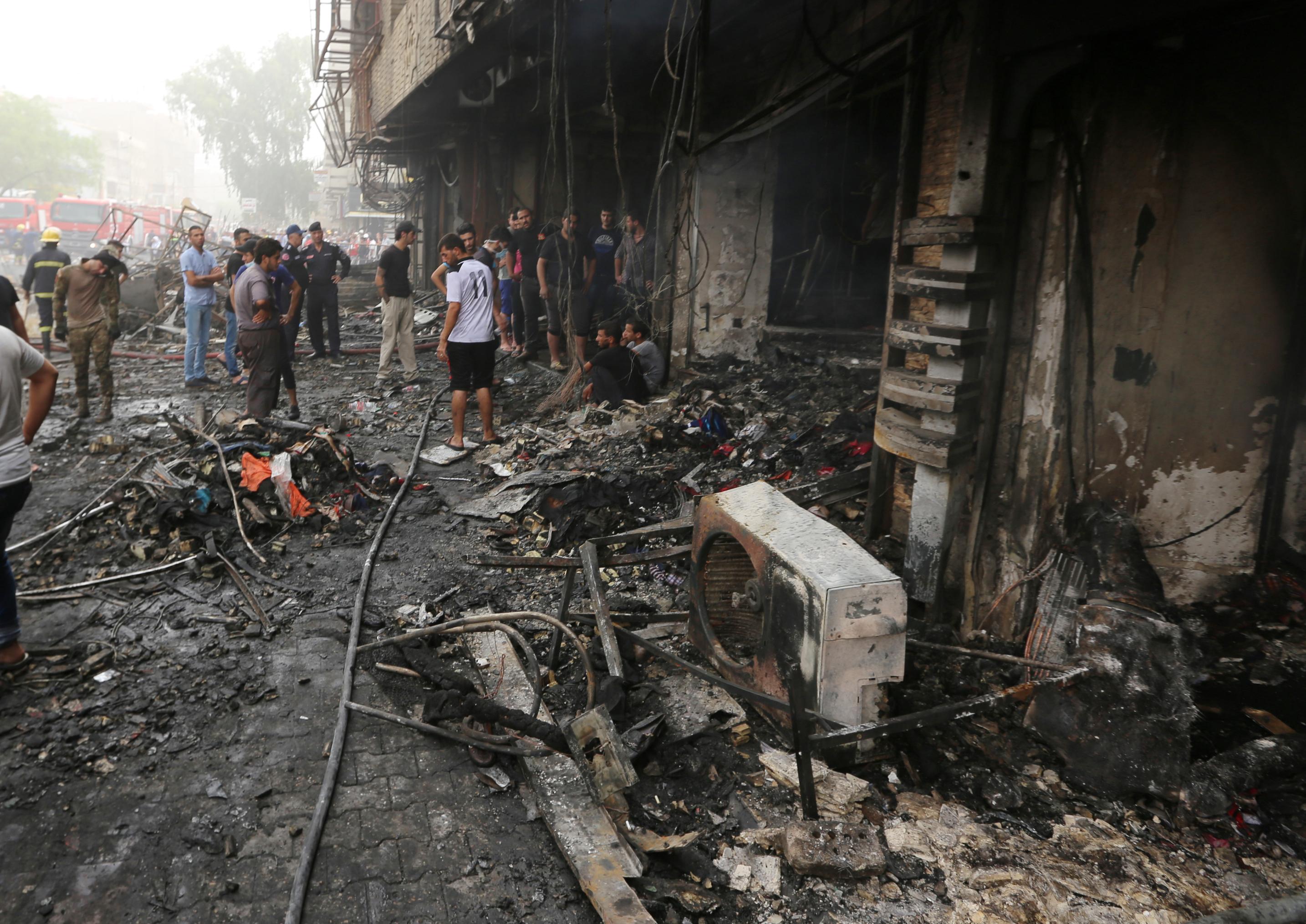 A százhuszat közelíti a bagdadi merénylet áldozatainak száma