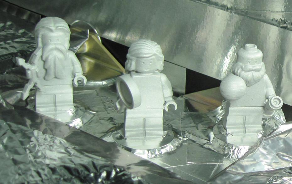 Legófigurákat is elvitt a NASA a Jupiterhez