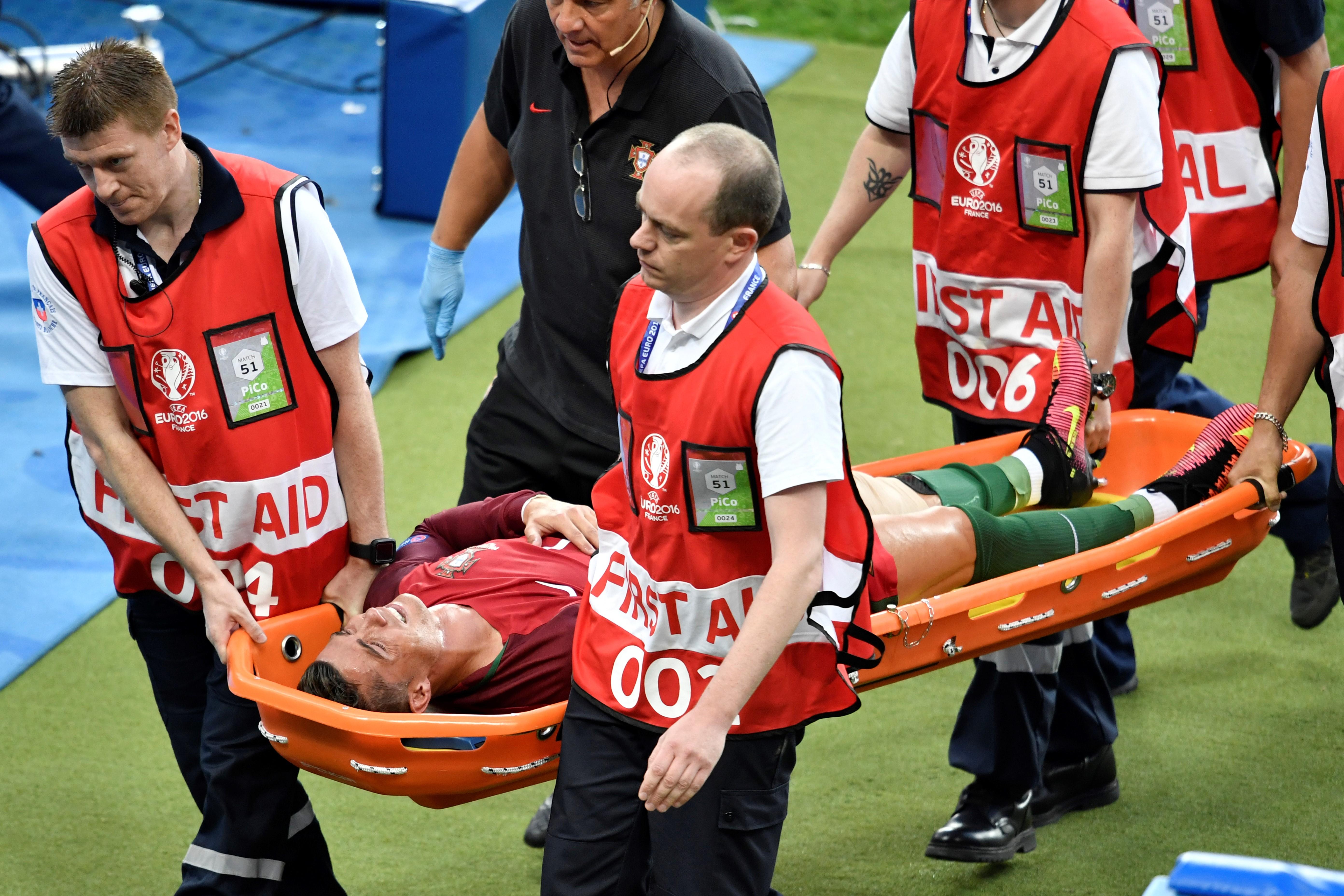 Ronaldo négy-öt hónapra lesérült