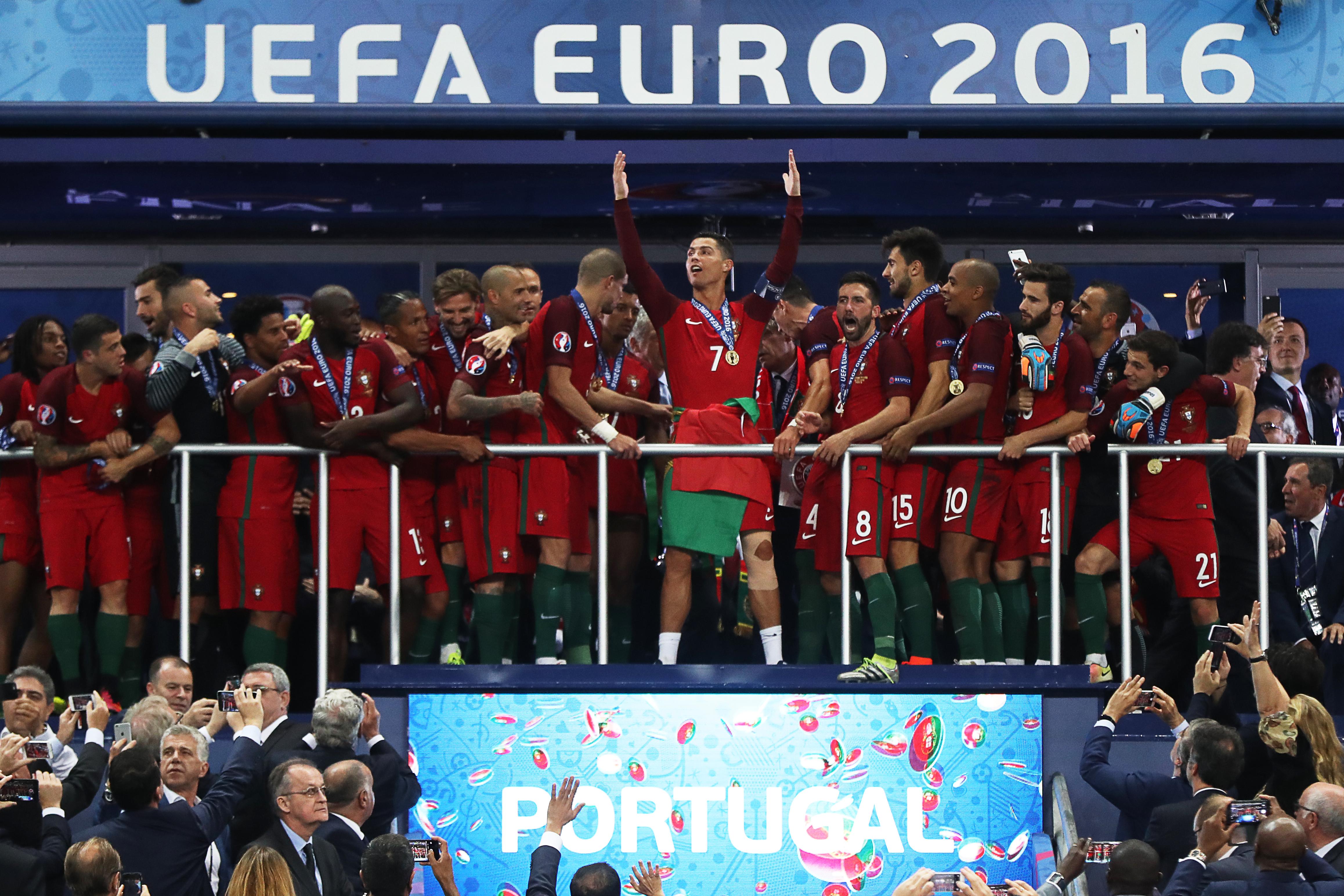 Ronaldo nélkül is legyőzték a portugálok Franciaországot