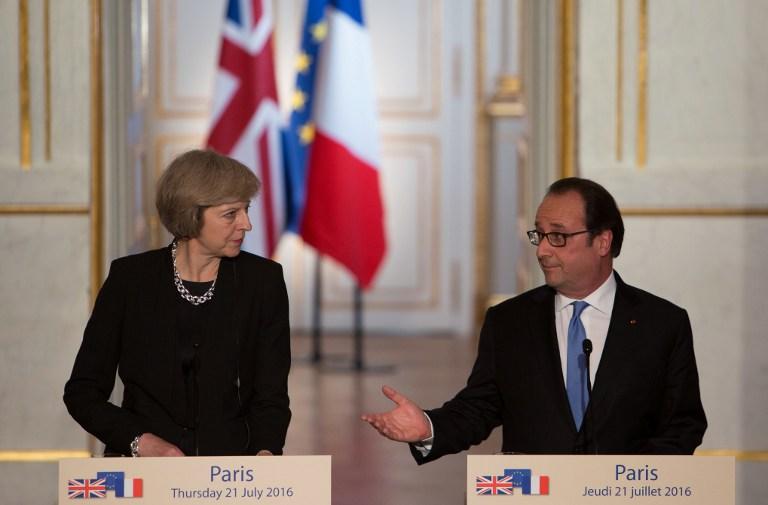 A francia elnök ultimátumot adott az új brit miniszterelnöknek
