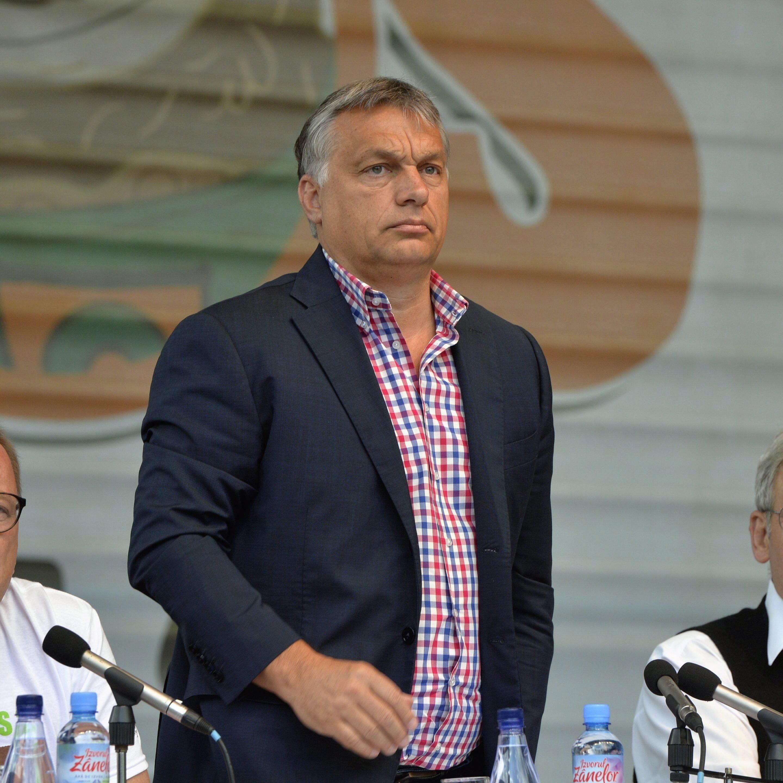 Orbán az első a világ vezetői közül, aki beállt Trump mögé