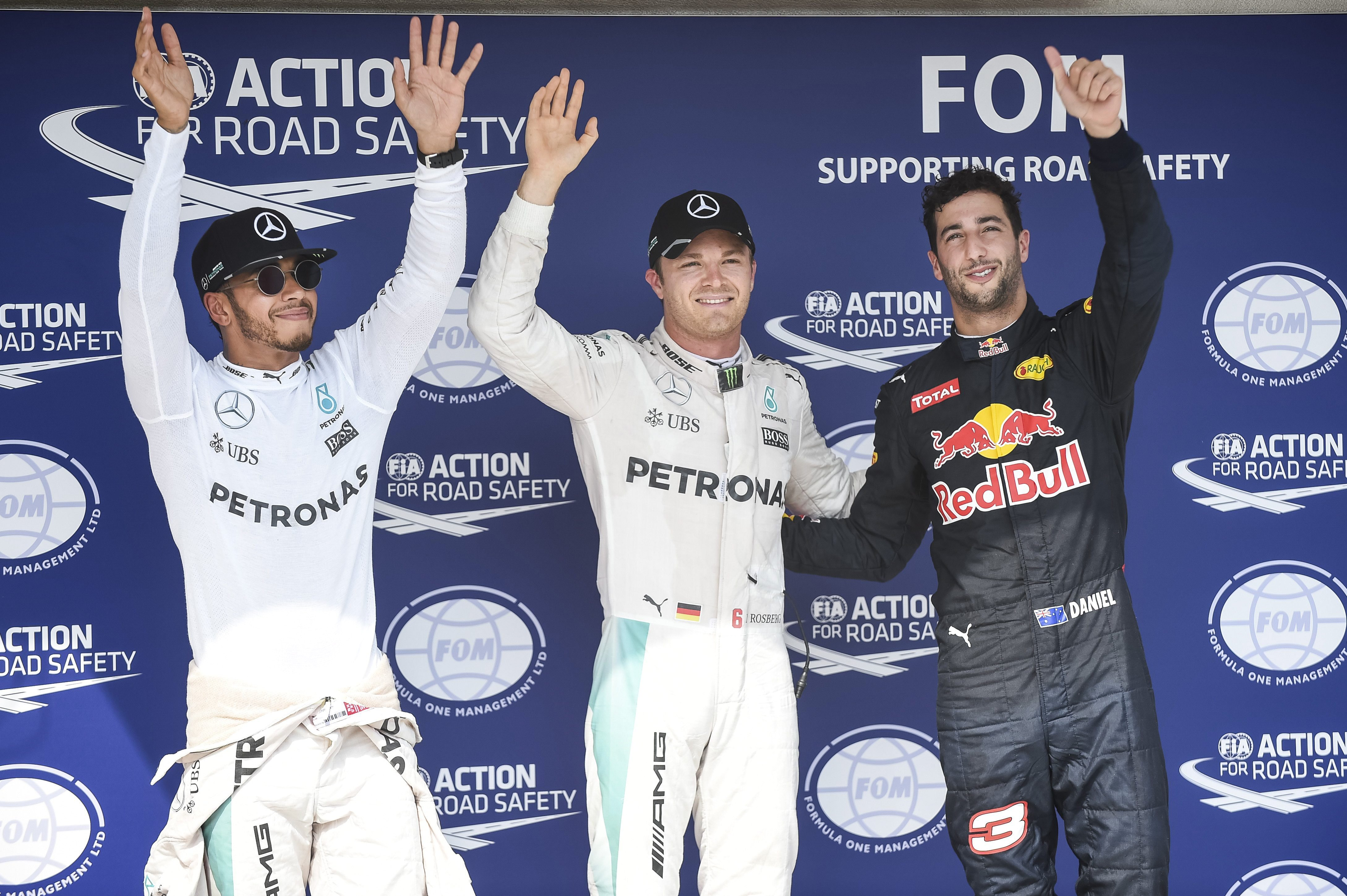 Nico Rosberg rajtol az első helyről a 31. Magyar Nagydíjért