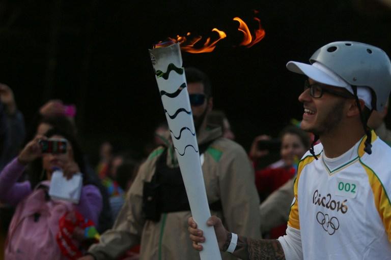 Lopta volna az olimpiai lángot, de esélye sem volt