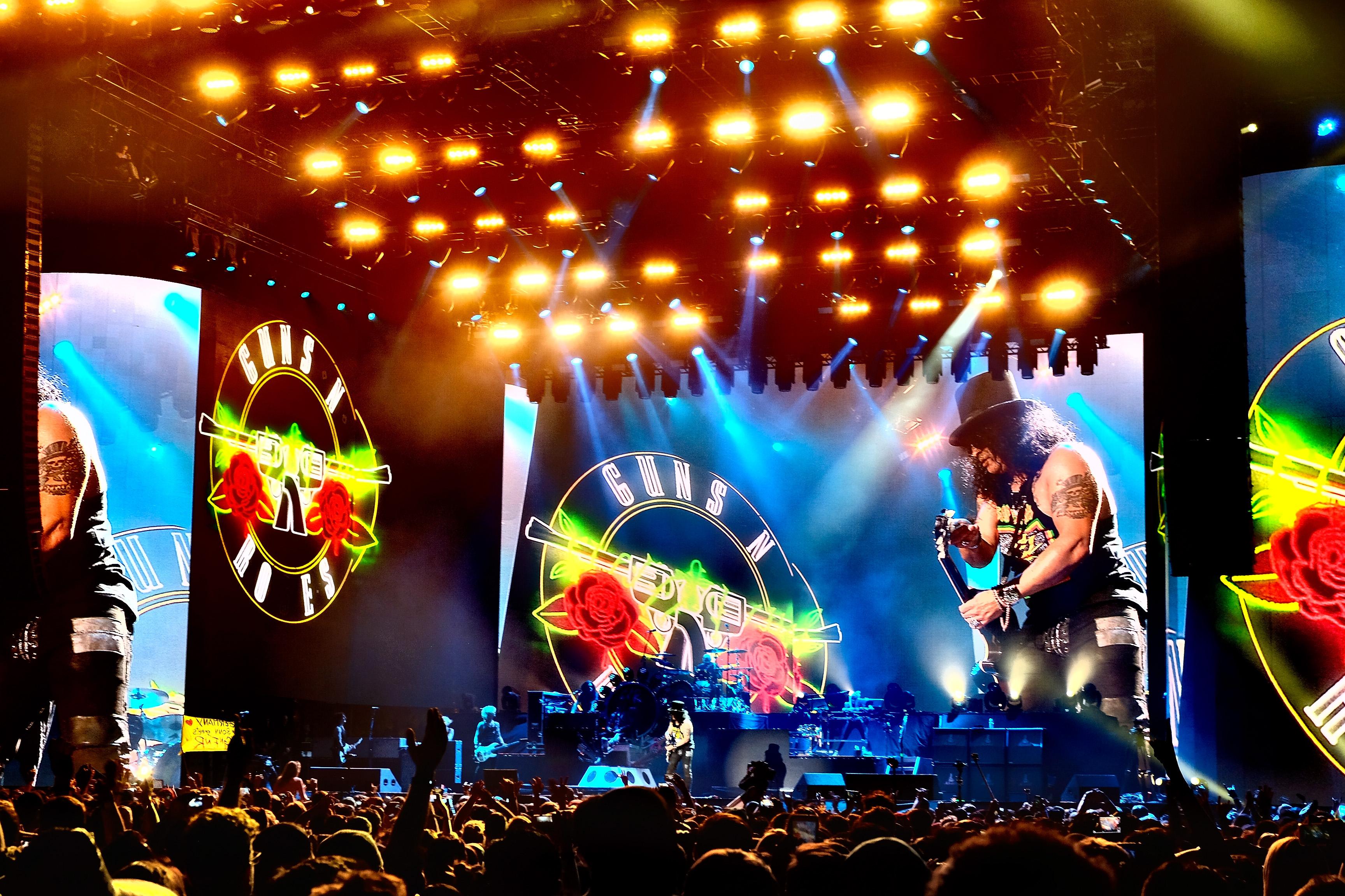 Budapesten nem lép fel a Guns N' Roses, de Bécsben és Prágában lesz koncert
