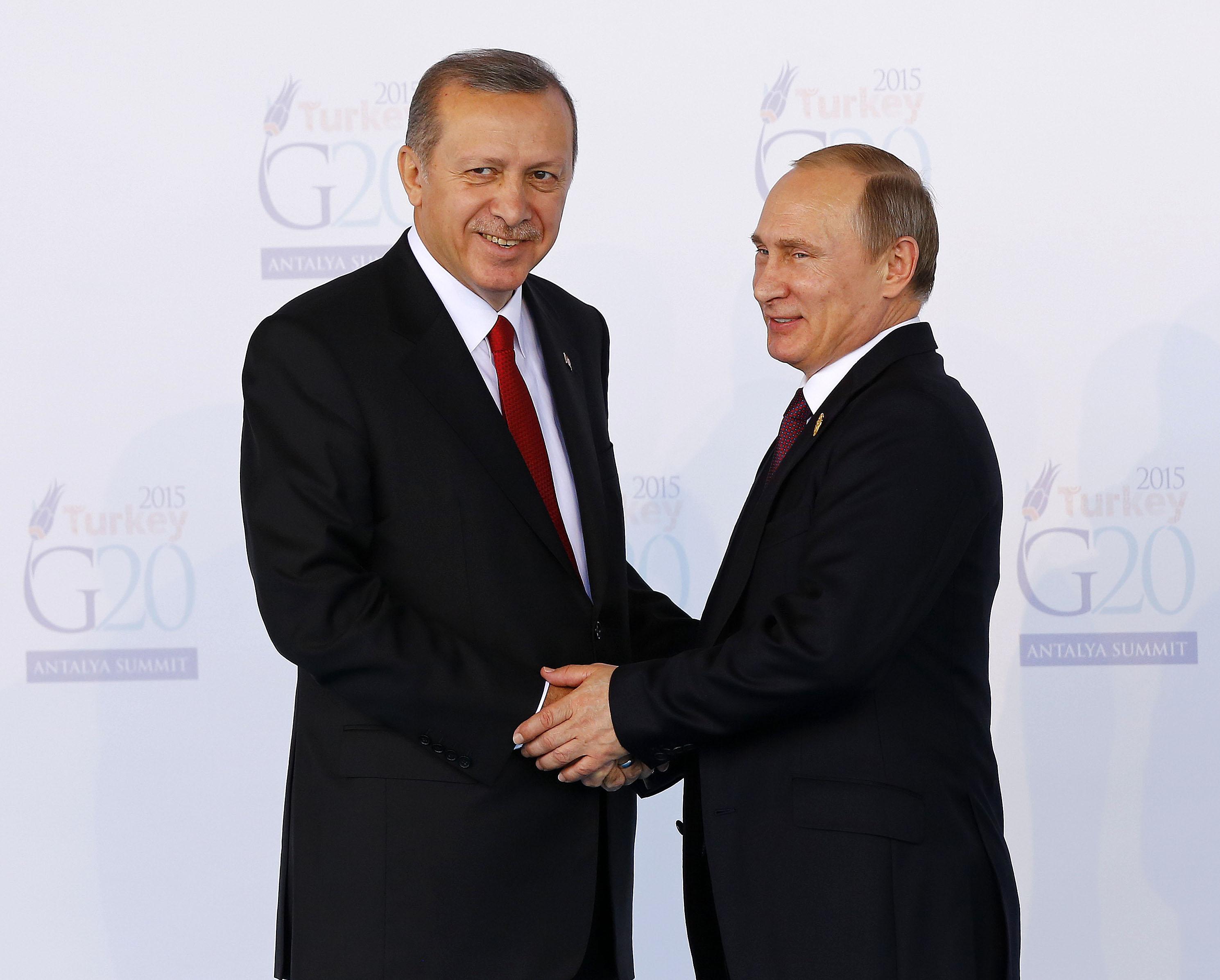 Régi barátként várják vissza Erdogant Ororszországba