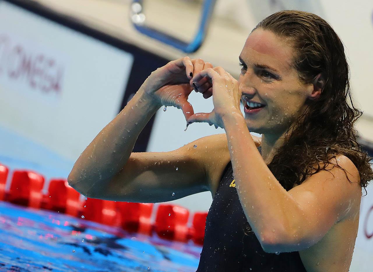 Papírforma: Hosszú Katinka az év úszónője
