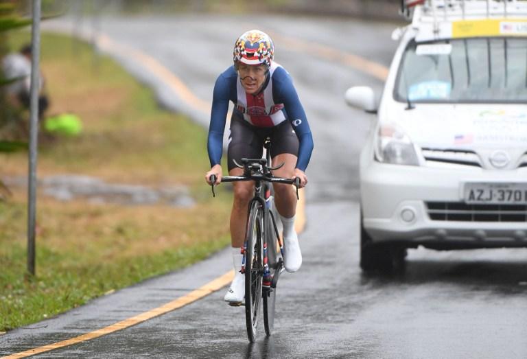 Kristin Armstrong 43 évesen sorozatban harmadik olimpiáján nyert aranyat az országúti kerékpárosok között