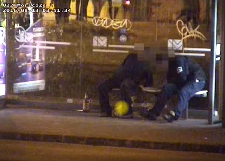Ravasz trükkel verte át a tolvajt egy magatehetetlenül fekvő férfi: nem volt nála semmi