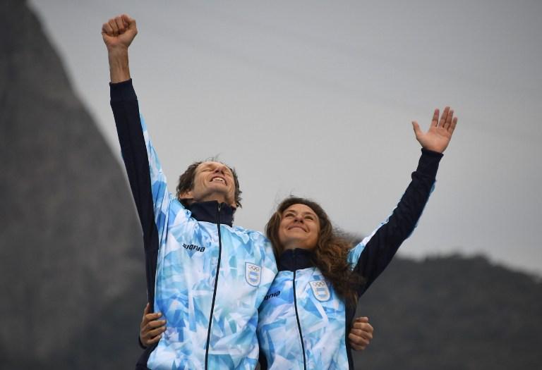 Tavaly kivették a fél tüdejét, idén olimpiai bajnok lett az argentin vitorlás