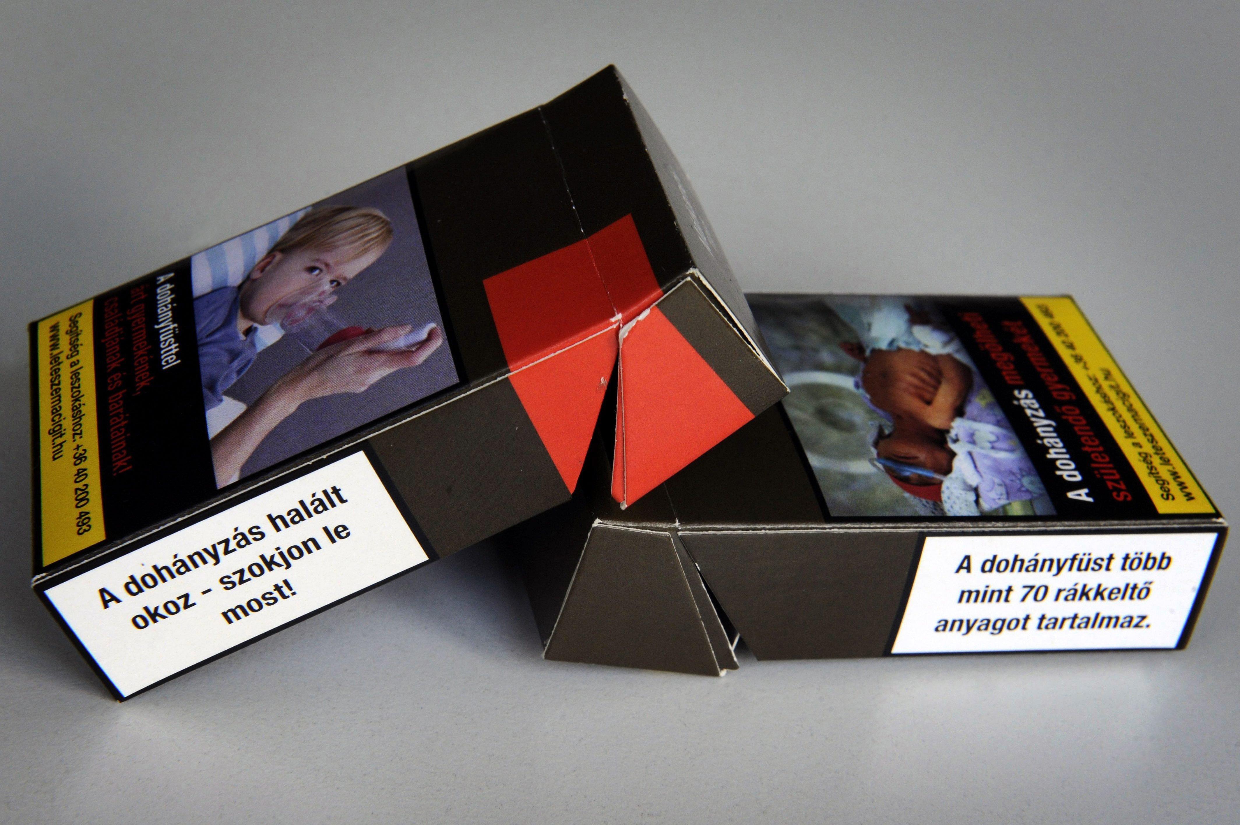 Kétszer és jelentősen fognak drágulni jövőre a dohánytermékek