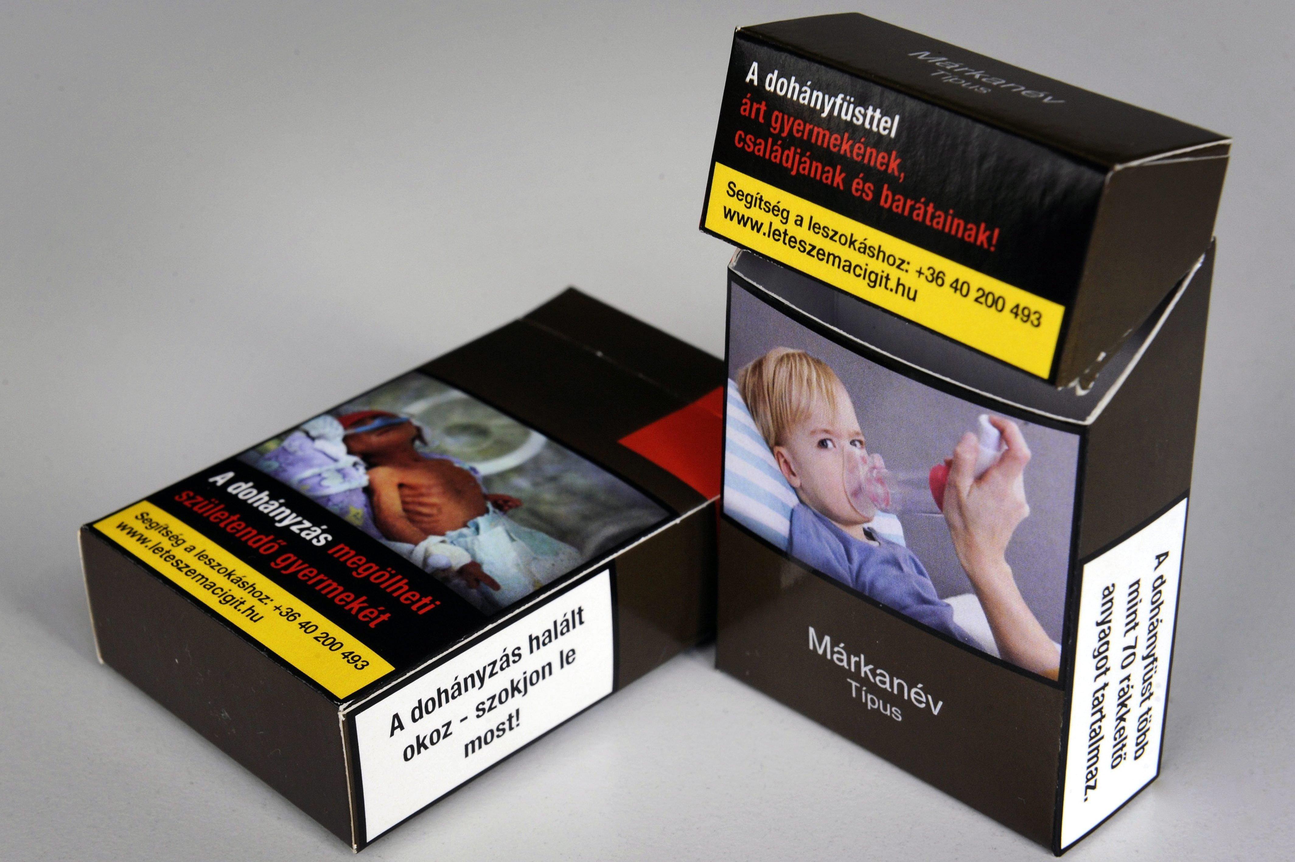 Mától nincs több márkajelzés a cigisdobozokon