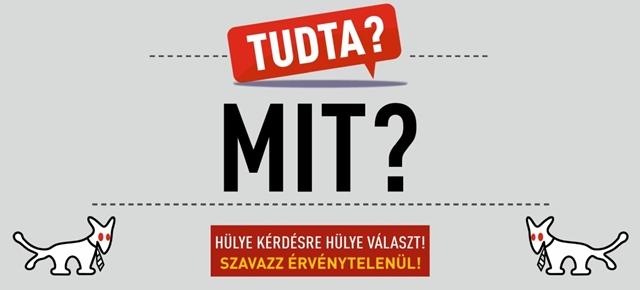 Nem cáfolja a VI. kerületi önkormányzat, hogy köze van a Kétfarkú Kutya Párt plakátjainak eltávolításához