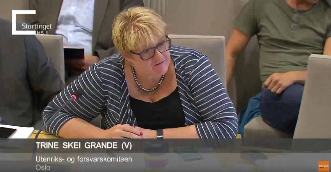 Pokémonozott a norvég liberálisok vezetője, miközben az ország honvédelméről szóló bizottsági meghallgatáson vett részt