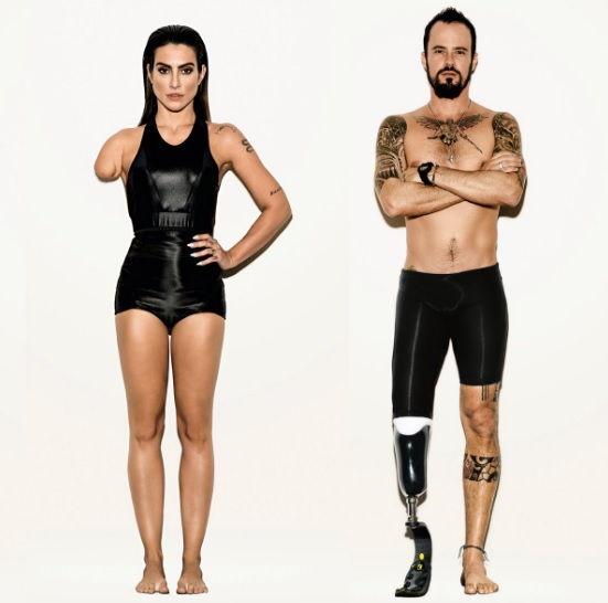 Ép modelleket photoshopolt paralimpikonokká a brazil Vogue