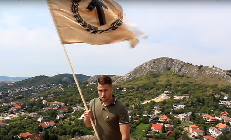 Nyilas lobogós Youtube-videóval mutatkozott be a konzervatív magyar egyetemisták régi-új szervezete, az Identitesz