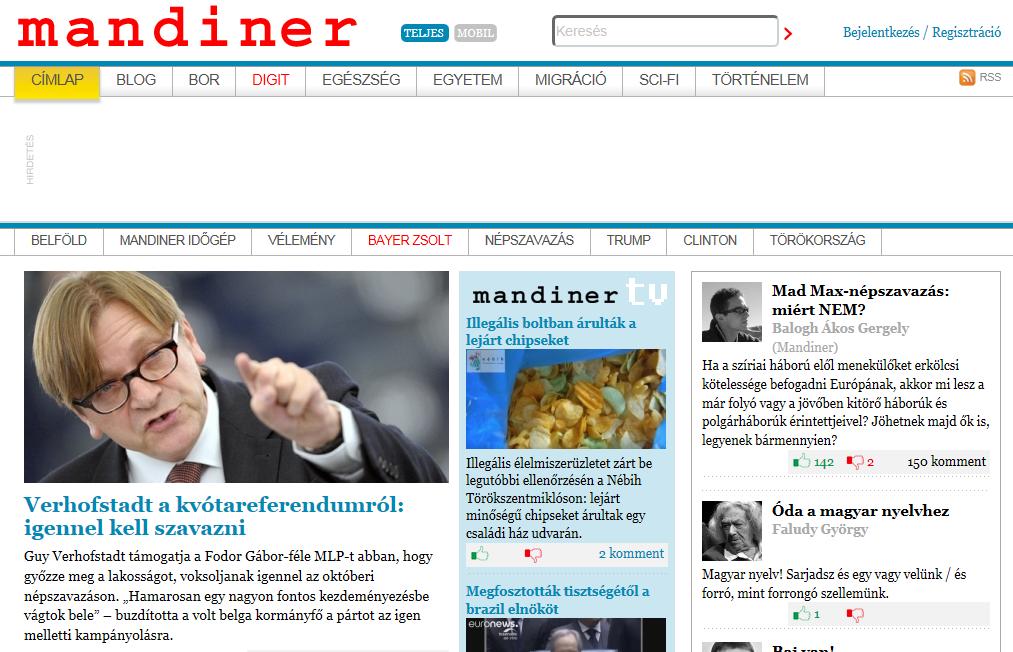 Távozik a lap éléről, és a Corvinus Egyetem kommunikációs vezetője lesz a Mandiner főszerkesztője