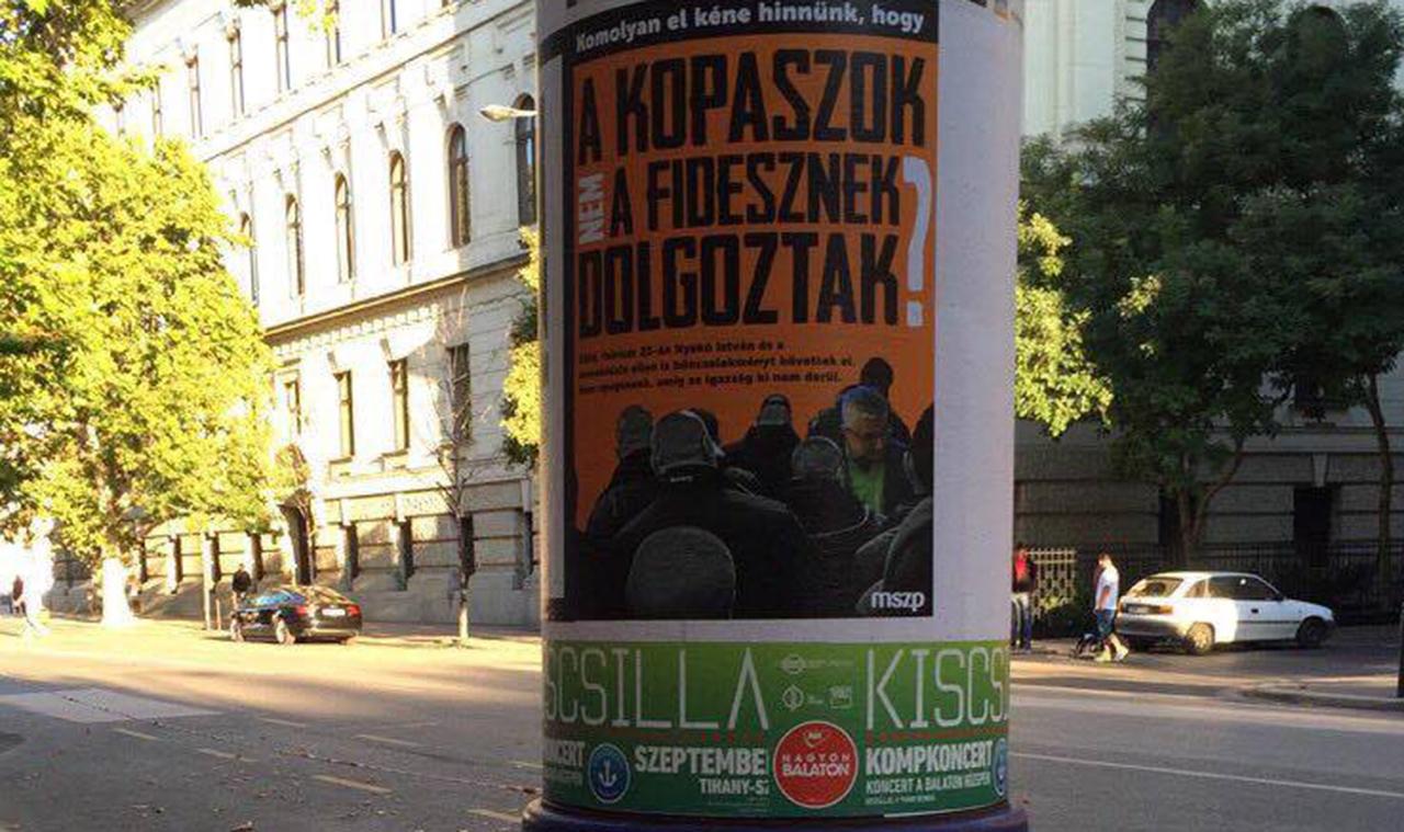"""""""Azt kéne hinnünk, hogy a kopaszok nem a Fidesznek dolgoztak?"""""""