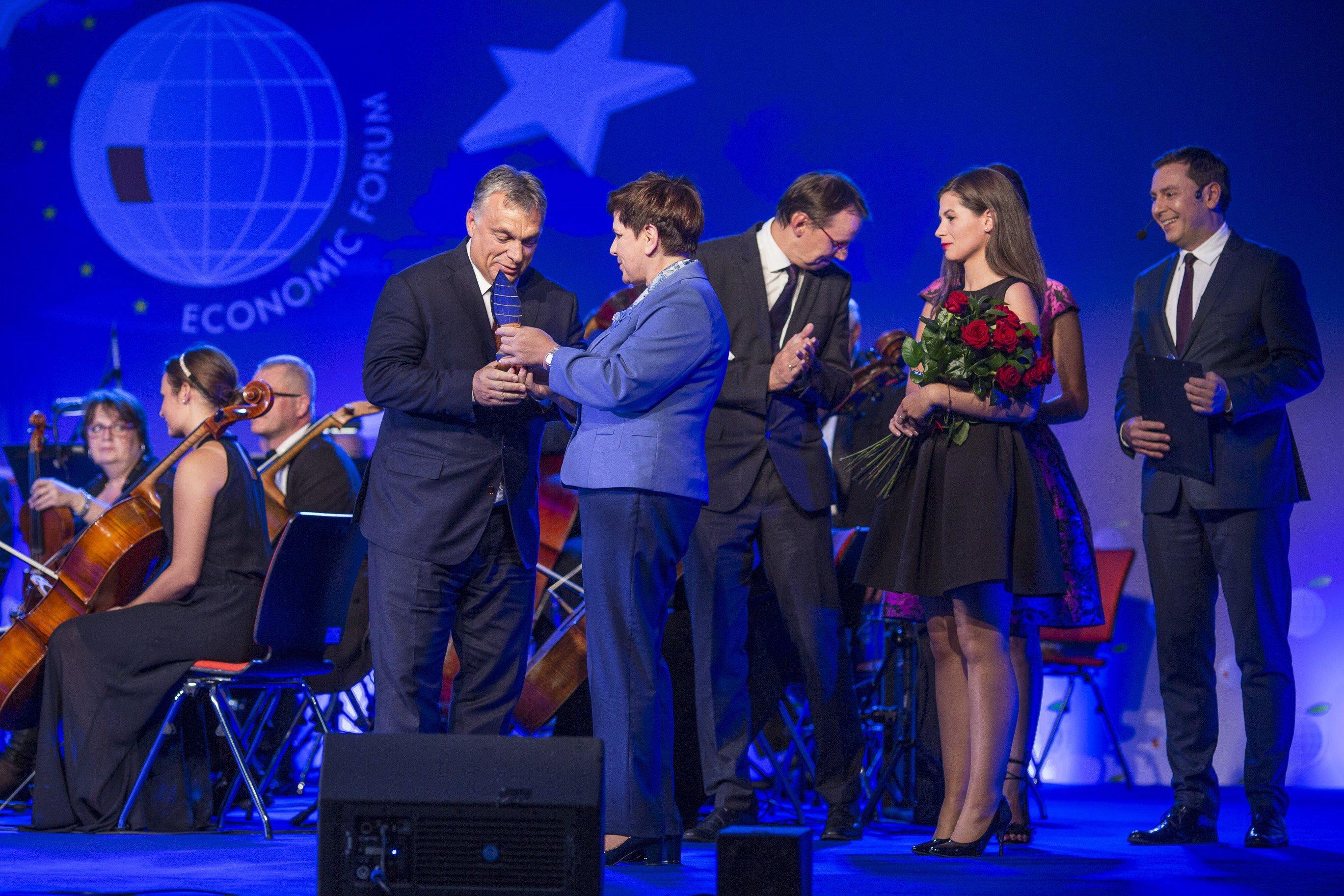 Orbán Viktor lett az év embere Lengyelországban