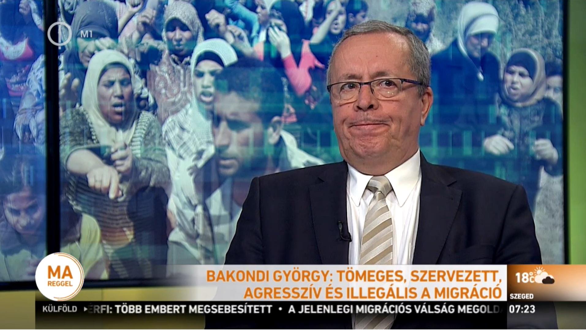 Bakondi szerint Magyarország szolidáris a migráció ellen védekező országokkal