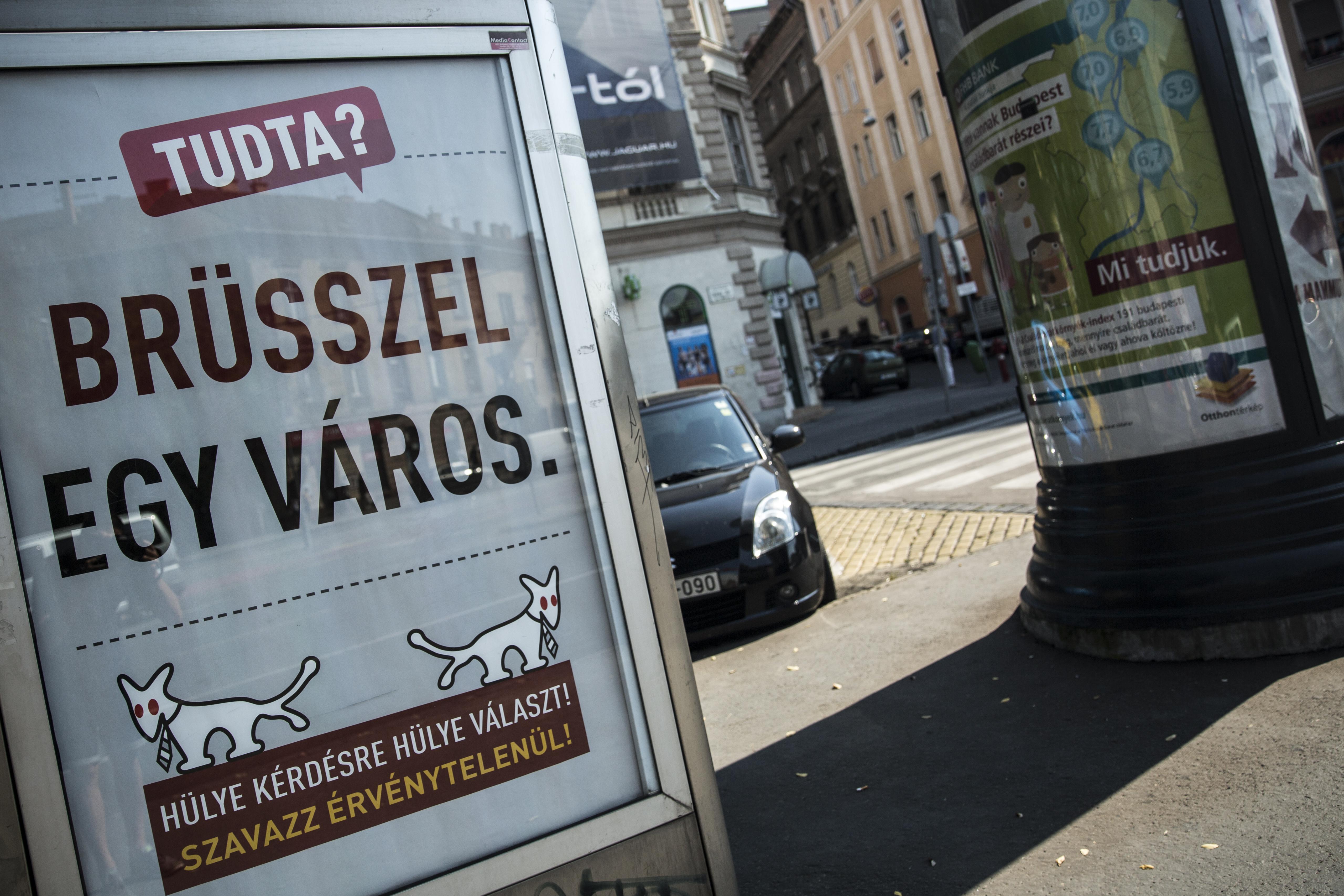 VI. kerületi önkormányzat: Nem adtunk utasítást a Kétfarkú plakátjainak leszaggatására