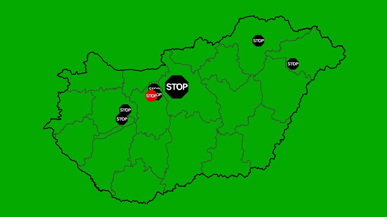 Találtunk Magyarországon 10 súlyos no-go zónát