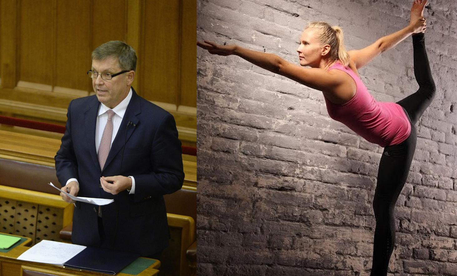 Matolcsy az egyik Pallas-alapítvány kuratóriumába is berakta új, jógaoktató barátnőjét