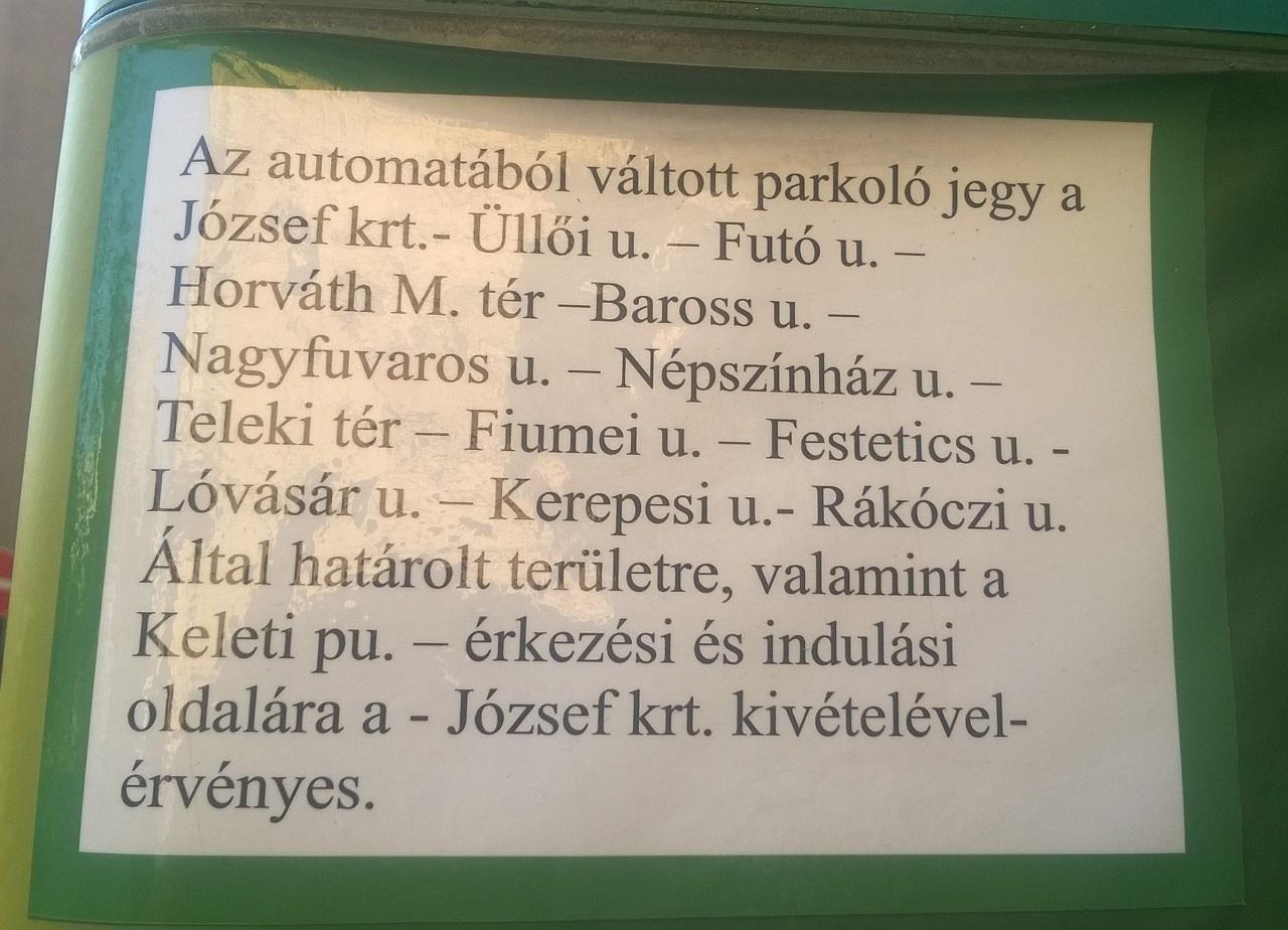 Ha a magyar bürokrácia úgy akarja, egy parkolóautomata is lehet érthetetlen