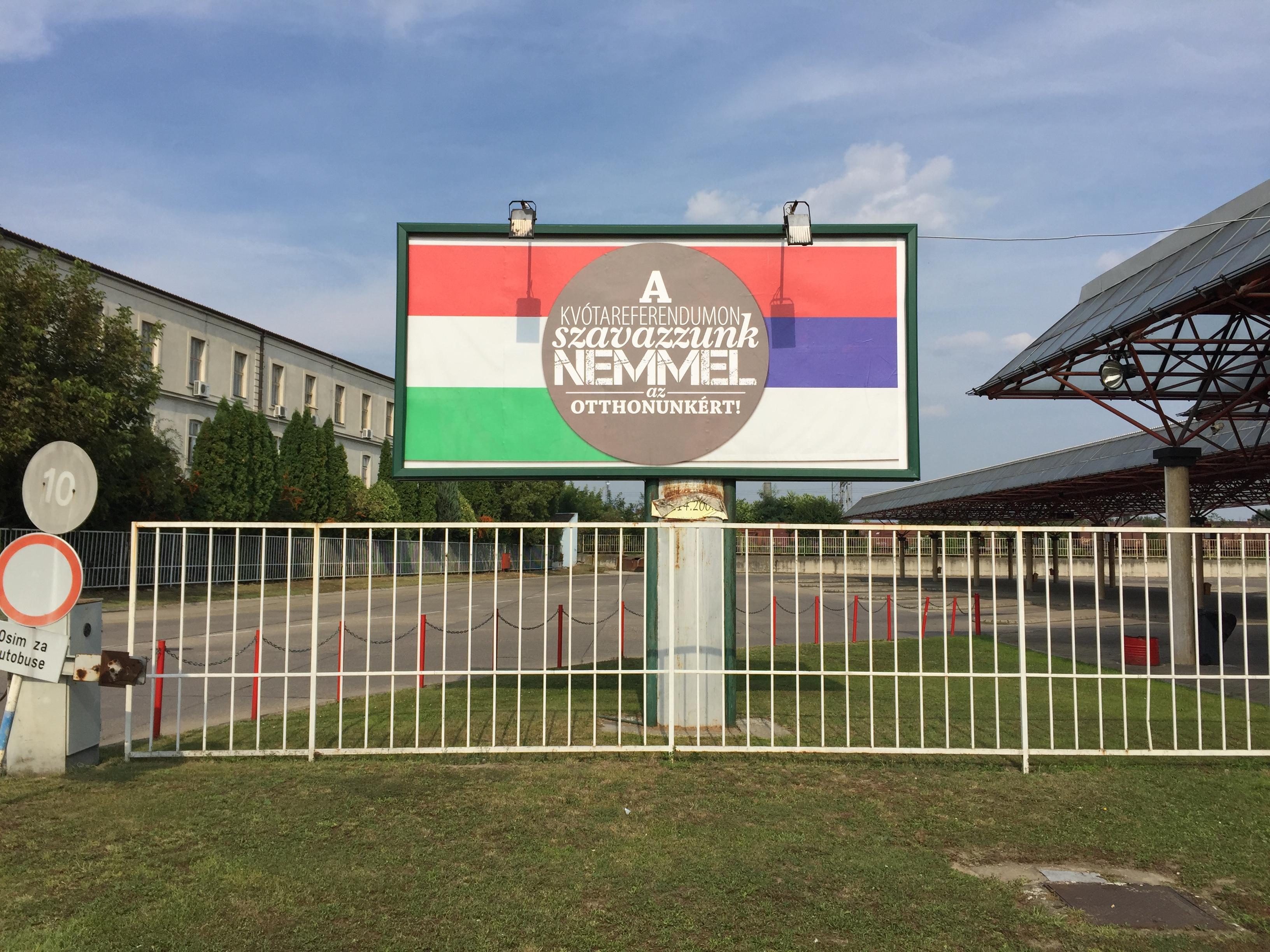 A lustább fideszesek is megirigyelnék azt a tempót, amivel a szerbiai magyaroknak tolják a kvótakampányt