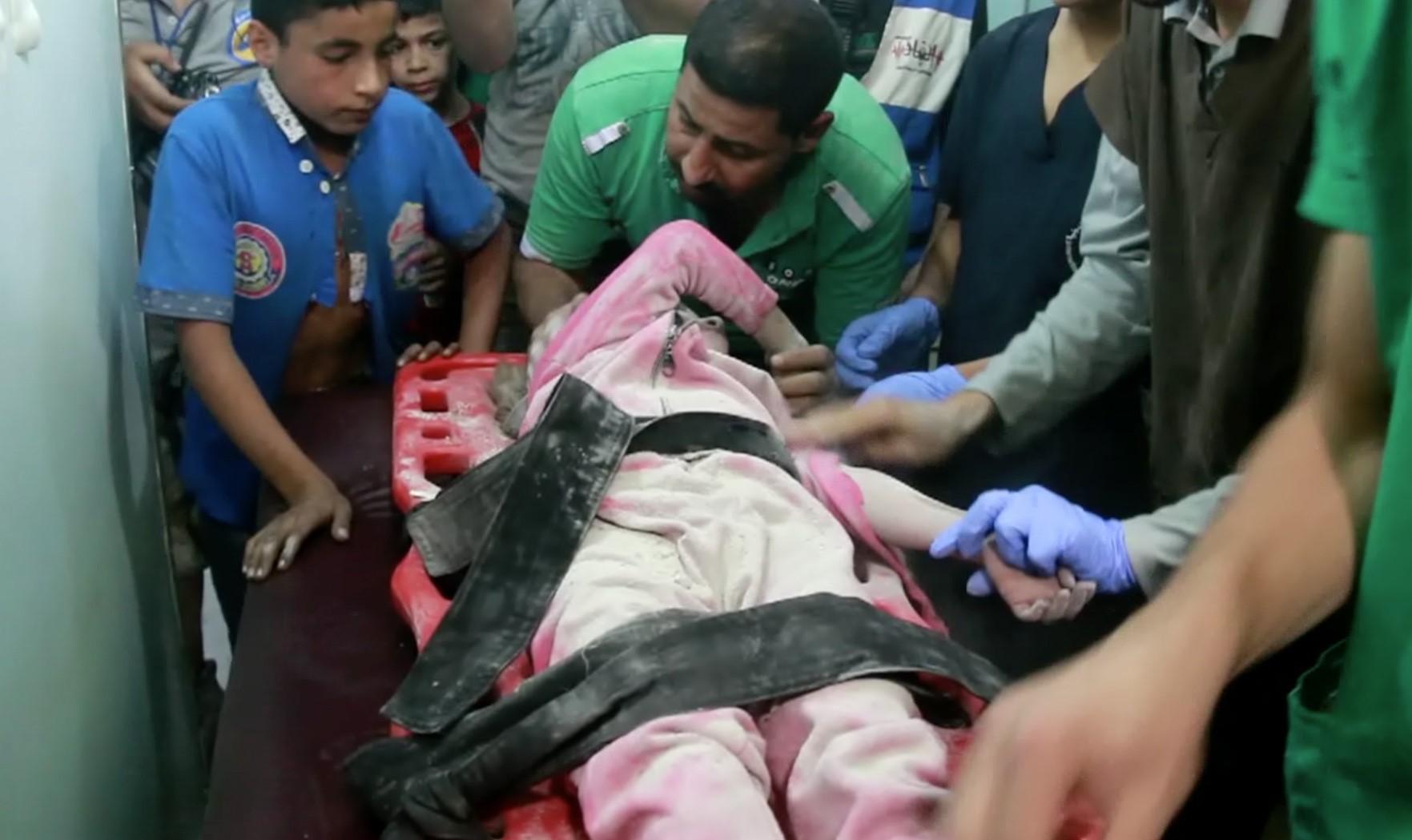 Kórházakat bombáztak orosz és szír vadászgépek Aleppóban