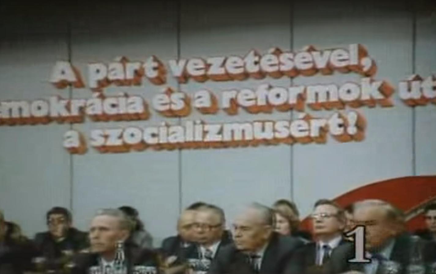 Az MSZMP KB titkára lett az MSZP választmány elnökhelyettese. De éppen ez a demokratikus!