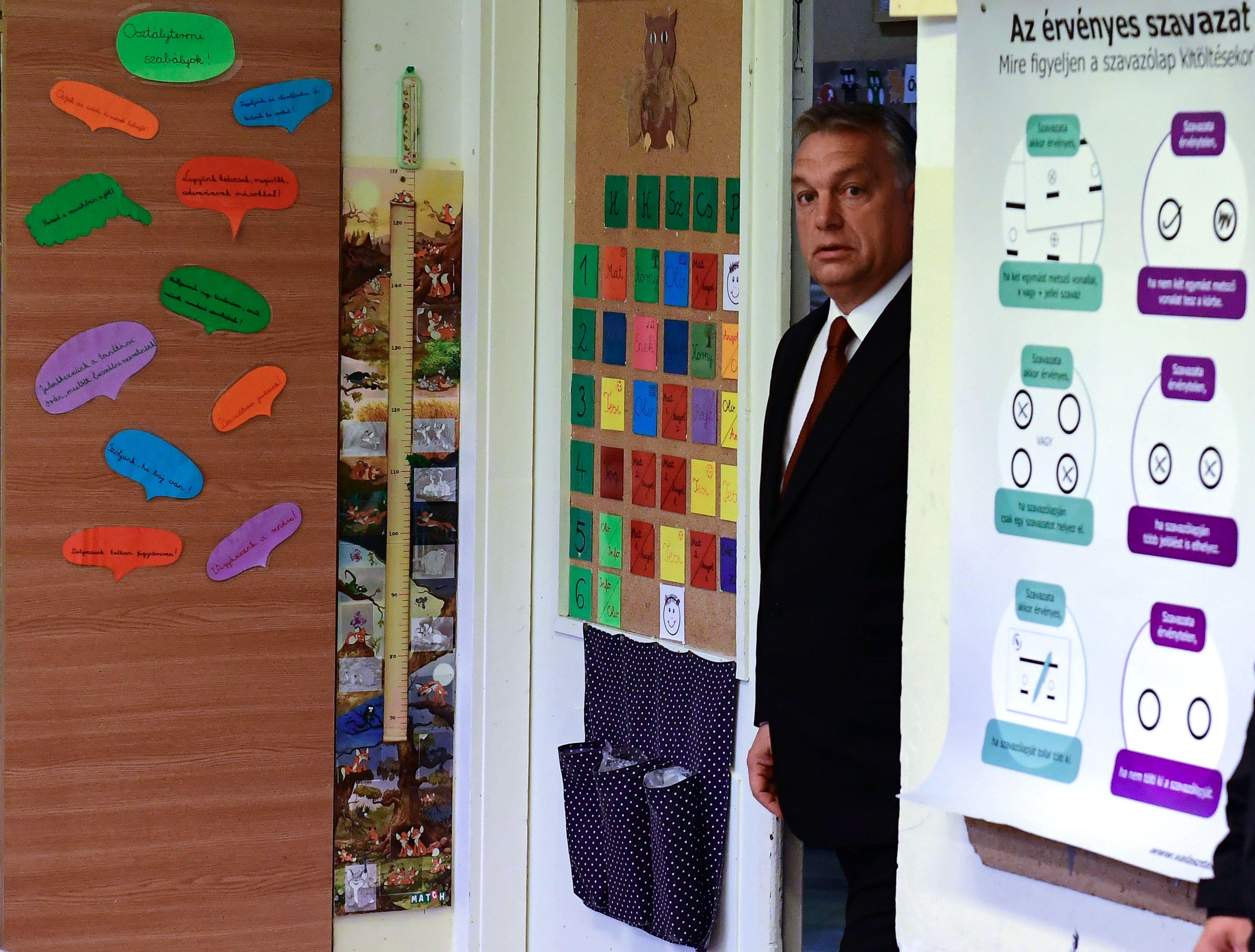 Hogyan jutott el Orbán a száz százalékos részvétel álmától addig, hogy minden mindegy