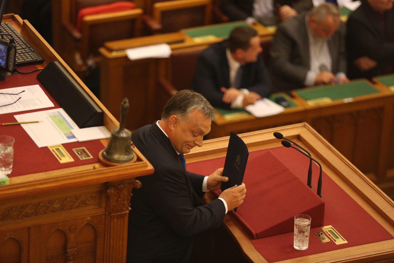 Orbán Viktor elért érveléstechnikája csúcsára