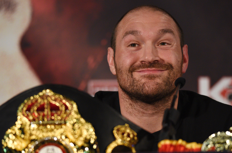 Tyson Fury: A boksz egy nagy rakás szar, visszavonultam, szopjatok faszt! :D:D:D