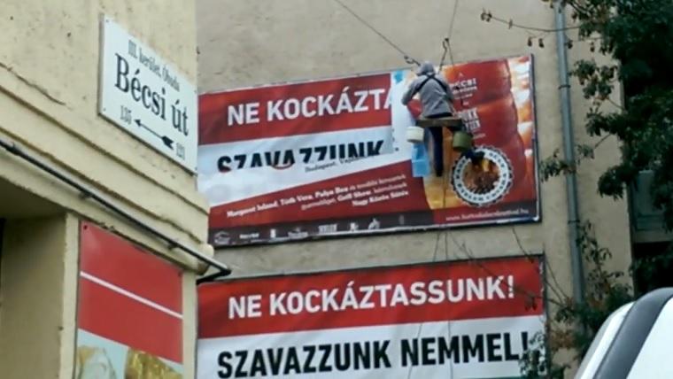 Sosem találnád ki, hogy két nappal a kvótanépszavazás után milyen kormányzati plakátot tettek ki
