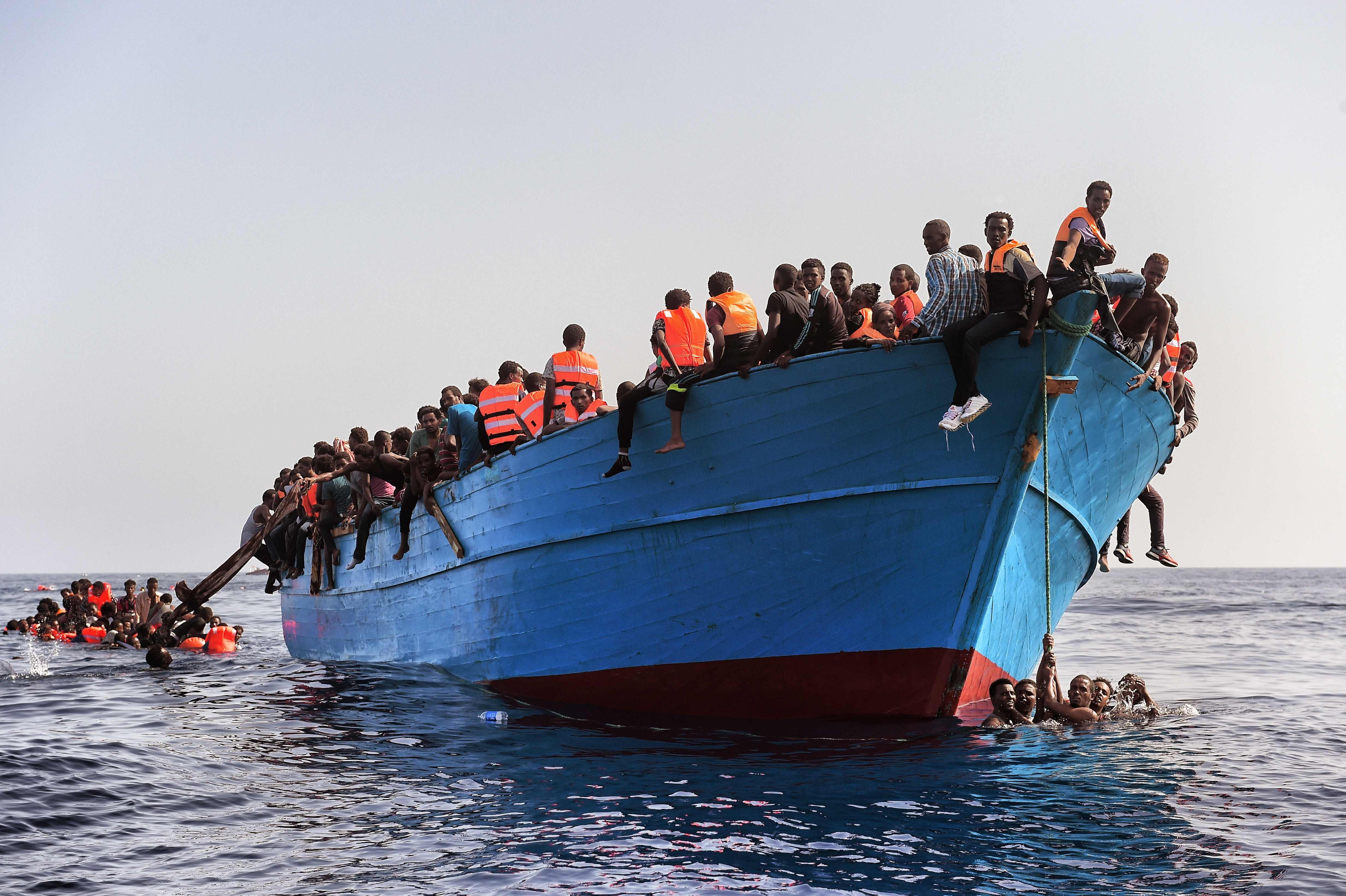 5 éves mélypontra került az illegálisan Európába érkezők száma