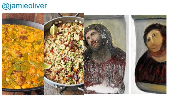 """""""Ez nem paella, hanem terrorizmus!"""" - Egész Spanyolország kiborult Jamie Oliverre"""