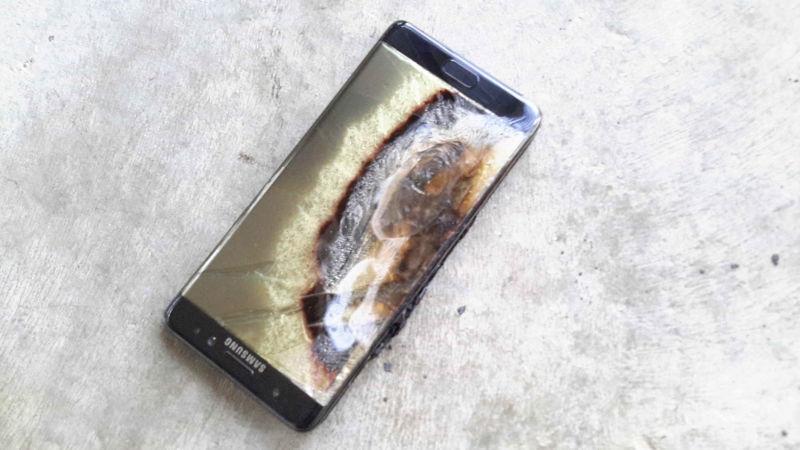 Már a második lecserélt Galaxy Note 7-es gyulladt ki