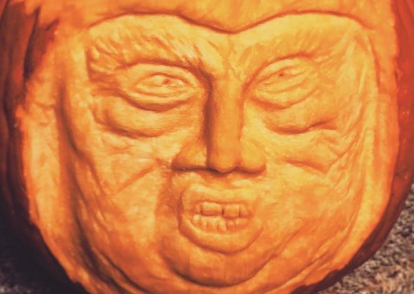 A Töktrump az idei halloween sztárja