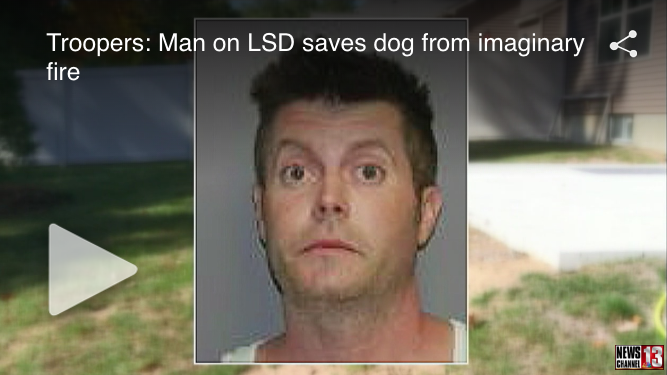 Kimentette a szomszéd kutyáját a tűzből, mégis börtönbe került, mi az?