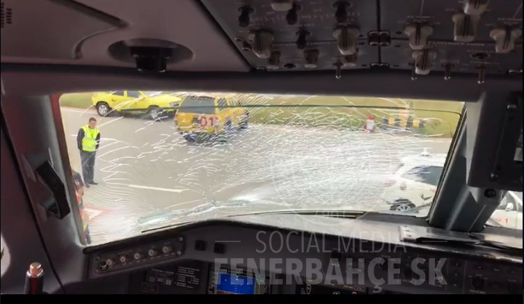 Ferihegyen hajtott végre kényszerleszállást a Manchesterbe tartó Fenerbahce gépe