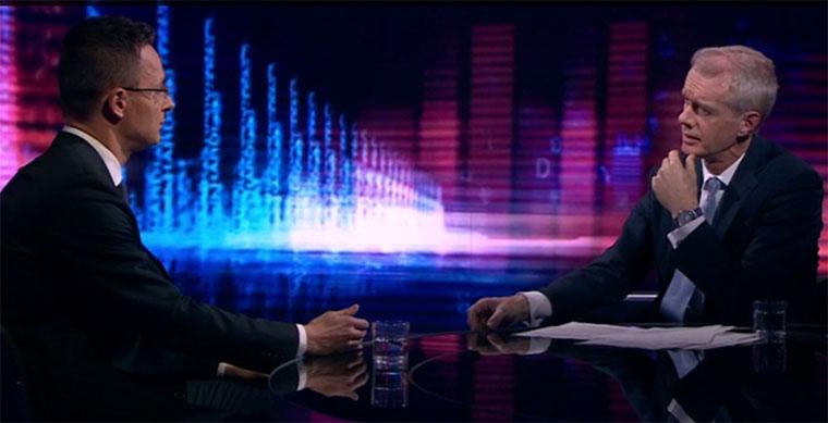 Szijjártó a BBC-n: Magyarország nem akarja büntetni Nagy-Britanniát a Brexit miatt