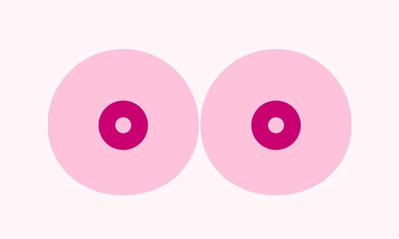 Elnézést kért a Facebook, amiért leszedte egy mellrák elleni szervezet videóját, amiért ez a rajzolt mell volt benne