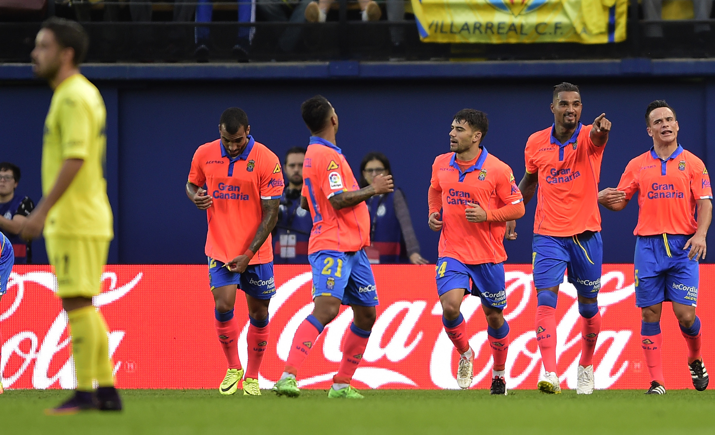 Kevin-Prince Boateng és a Las Palmas olyan gólt lőtt, amilyet csak rajzolni lehet