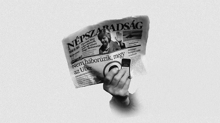 Egy éve ezen a napon csinálta ki a NER a legnagyobb magyar politikai napilapot