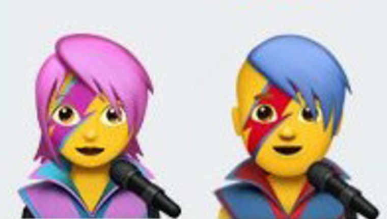 Emoji lett David Bowie-ból