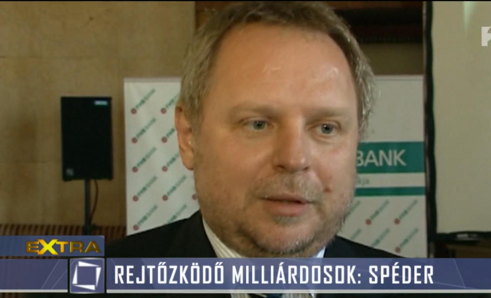 Pert nyert Spéder Zoltán a TV2 ellen a Tények lejárató riportja miatt