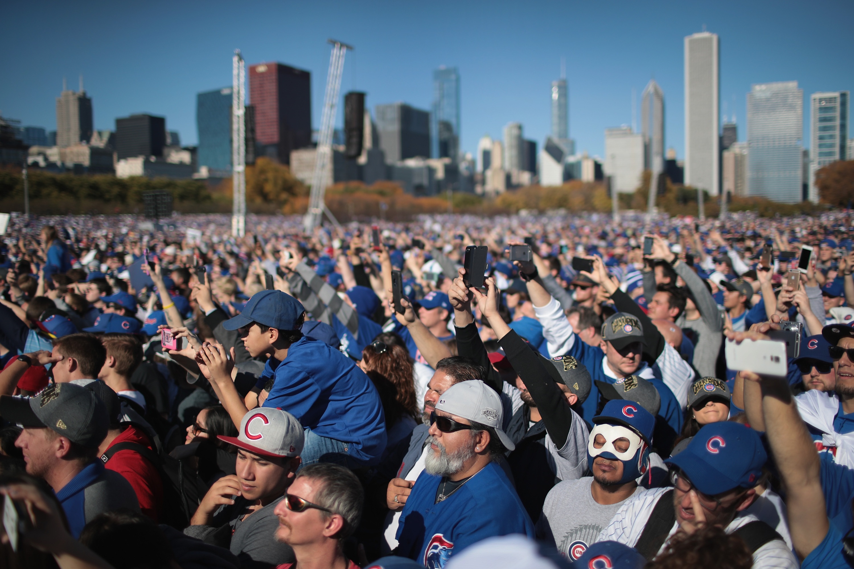 Chicago teljesen megőrült, miután bajnokságot nyert a Cubs